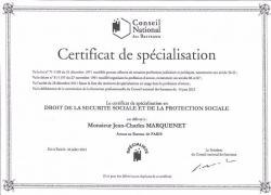 Avocat spécialiste droit de la sécurité sociale et de la protection sociale